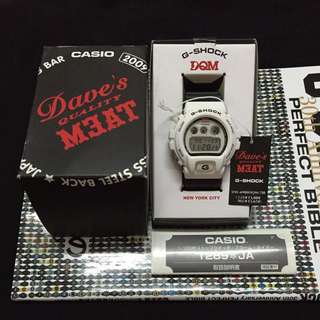 G Shock X Dave's Quality Meat DW 6900DQM 7JR