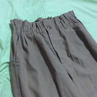 顯瘦高腰褲
