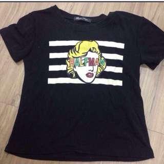 黑色 T恤