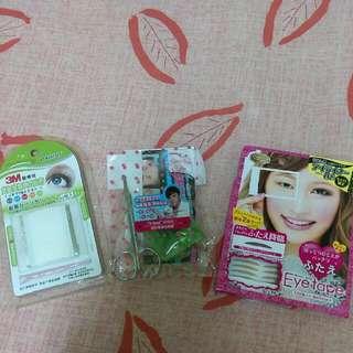 (保留中)(含運)雙眼皮貼 雙面 AB隱形塑眼貼線 日本KOJI