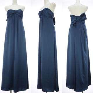 Super Discount!! BCBG MAXAZRIA Back Ribbon Evening Gown Worth $750