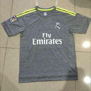 Gray Real Madrid #7 Ronaldo 2016 MENS Jerseys & Shorts Men's Set Football Sportswear