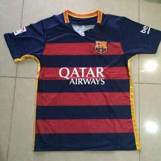 Barcelona #11 Neymar Men's Set 2015-16 Jersey & Shirts Football Sportswear
