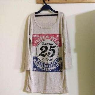 🎉降價🎉台灣製 U領棉質T恤
