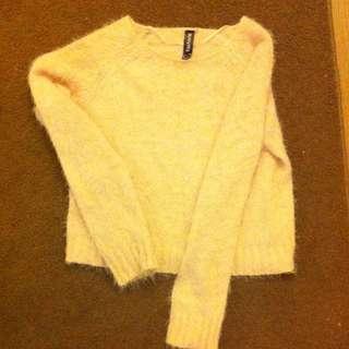 Light Pink Woollen Sweater