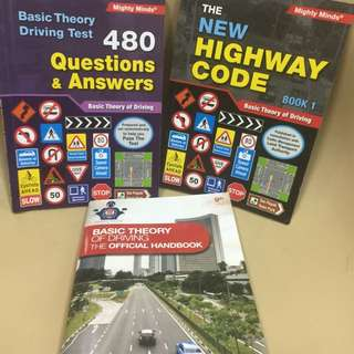 Basic Theory Driving Test Handbooks And Practical Questions