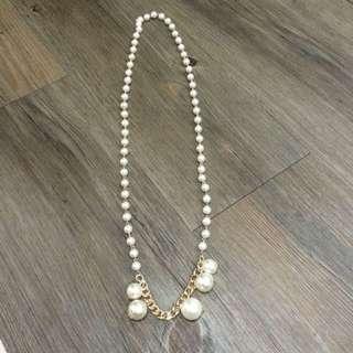 白珍珠項鍊
