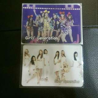 Girls' Generation SNSD Yescards