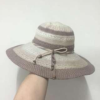草帽 藤編帽