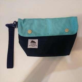 藍色手拿包/包/手提包