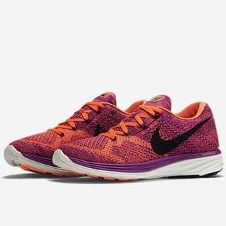[正品/9.9新] Nike Flyknit Lunar 3,編織美鞋
