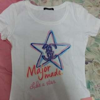 Major 星星短t(保留)