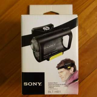 Sony Action cam Head mount BLT-HB1