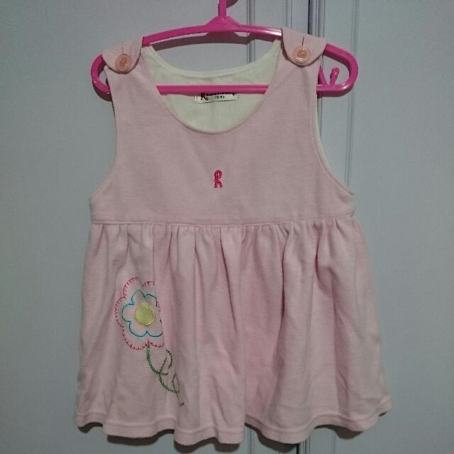 諾貝達寶寶80cm背心洋裝