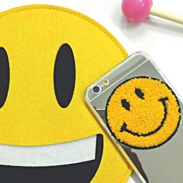 笑臉😊鏡面手機殼(韓國)