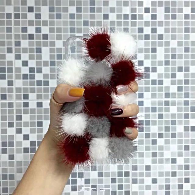 毛球🔴立體手機殼(韓國代購)