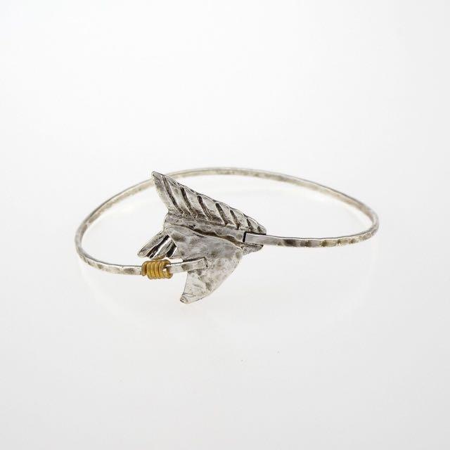 現貨供應⚓️歐美日韓民俗風銀飾款矛型造型設計手環手鍊飾品