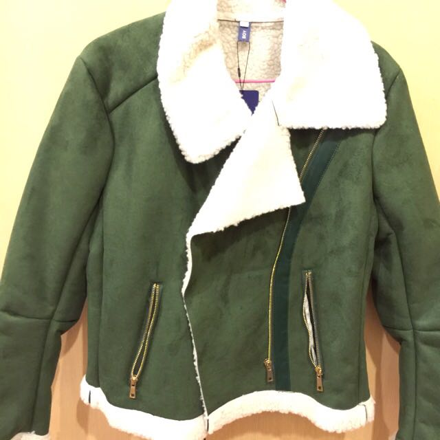 鋪羊毛夾克外套