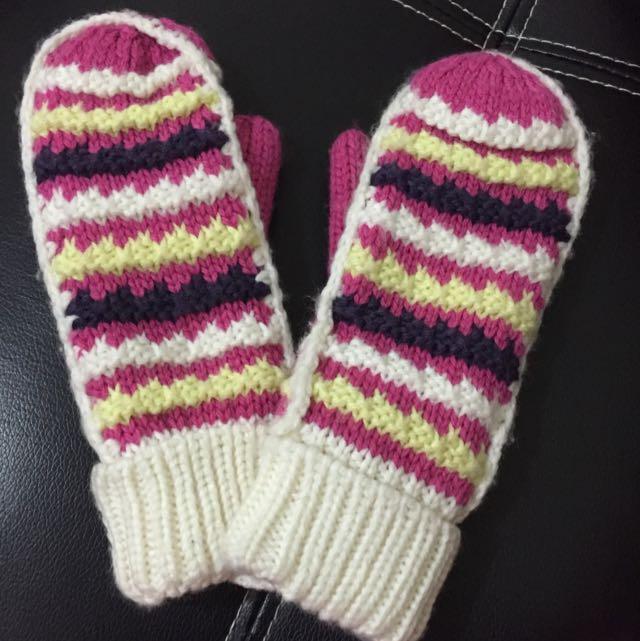 保暖毛線手套