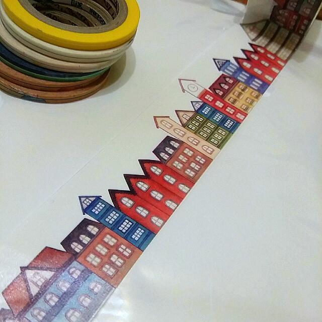 分裝紙膠帶🌹荷蘭風景🏡