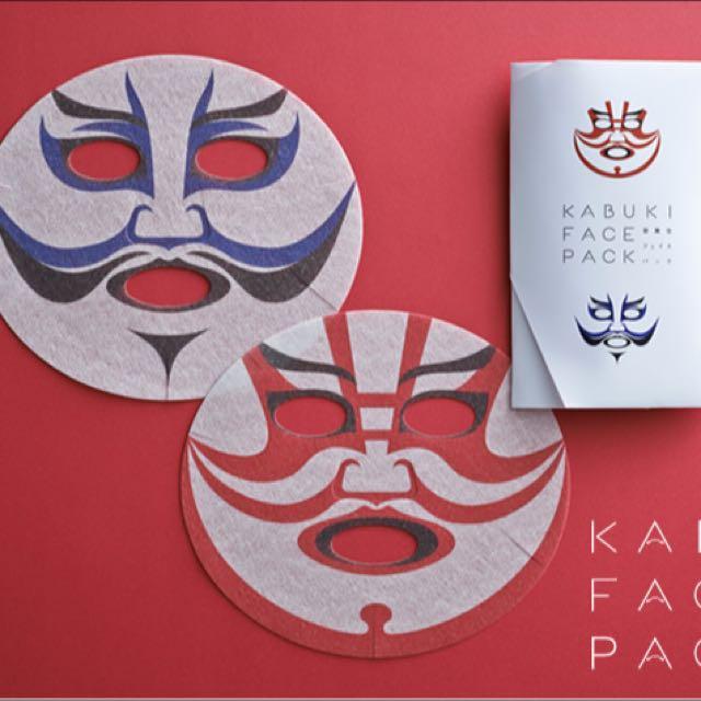 日本帶回🇯🇵臉譜面膜兩片 #你喜歡我送你