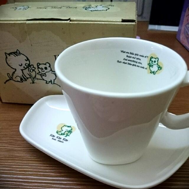 條碼貓/小竹輪咖啡杯盤組