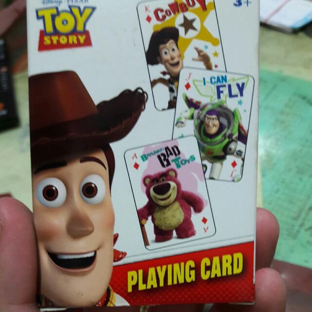 迪士尼 撲克牌