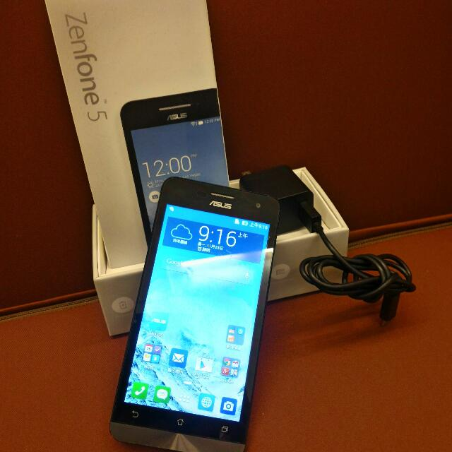 八成新 華碩 Asus ZenFone 5 (2G RAM/ 16GB ROM)