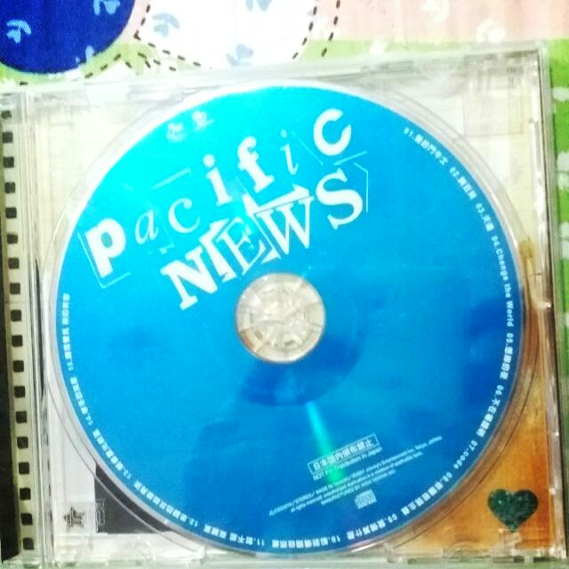 傑尼斯 NEWS Pacific CD