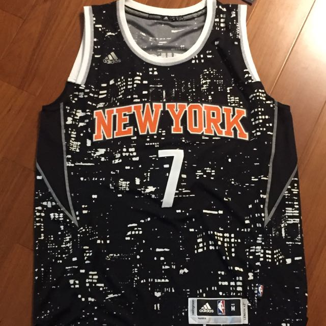 Adidas swingman New York Knicks Camelo Anthony 甜瓜 城市限定版 M