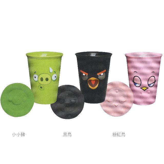 Angry Birds 憤怒鳥雙層陶瓷杯 (附立體造型杯蓋)