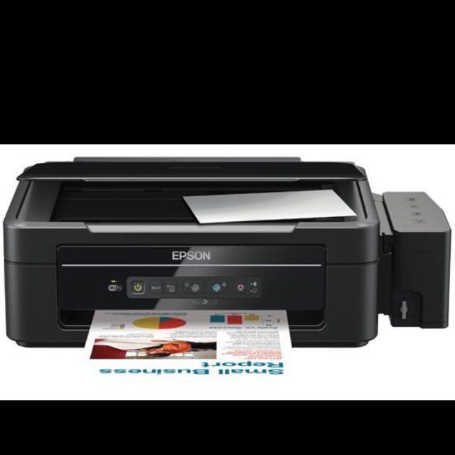 EPSON L355 連續供墨印表機/掃瞄器/影印機/無線 藍牙列印