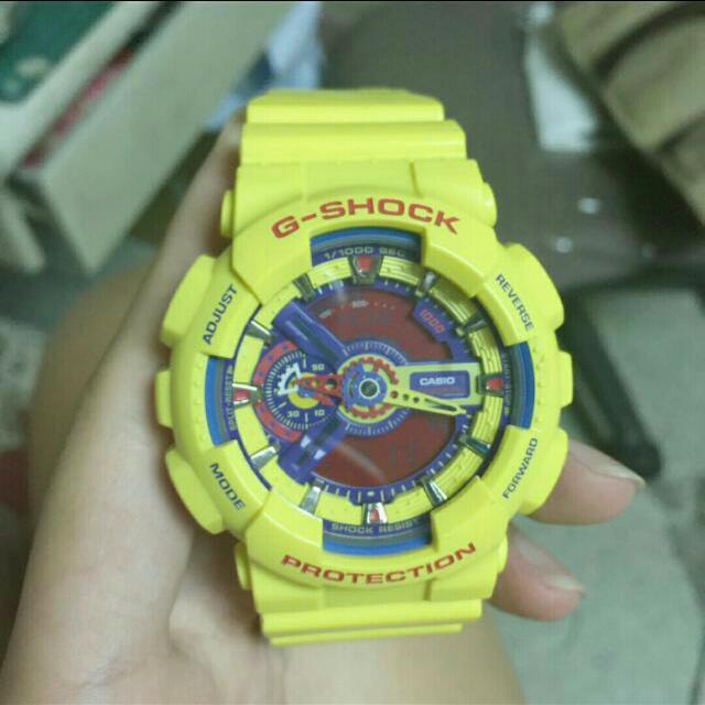 (保留)G-shock 黃樂高