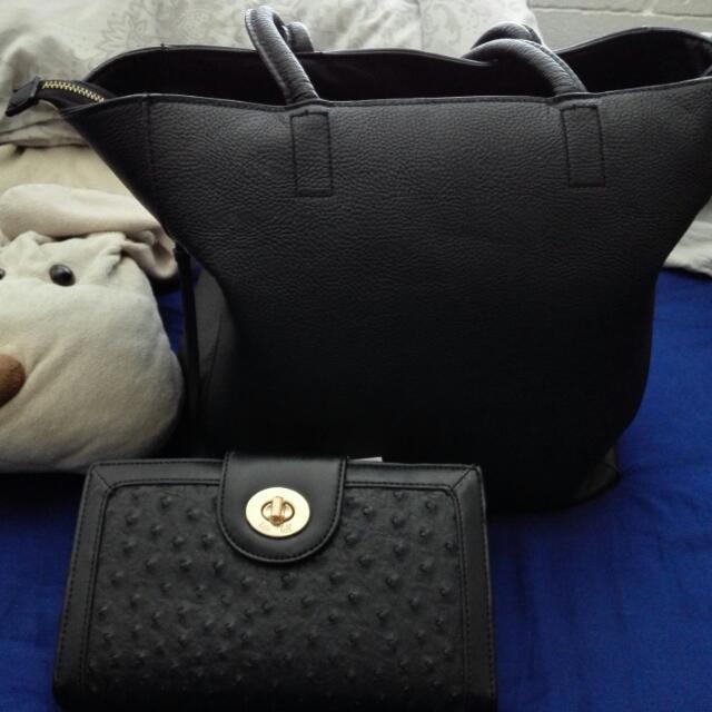 H&m Leather Bag