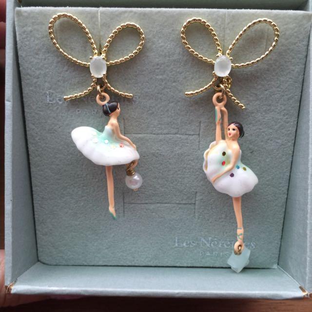 Les Nereids Paris 芭蕾舞耳環