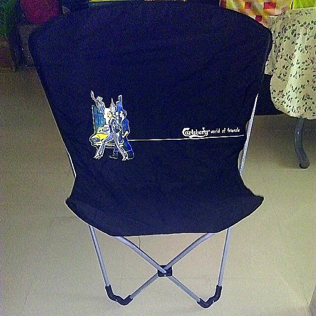 Outstanding Lightweight Portable Folding Chair With Carry Bag By Carlsberg Pdpeps Interior Chair Design Pdpepsorg