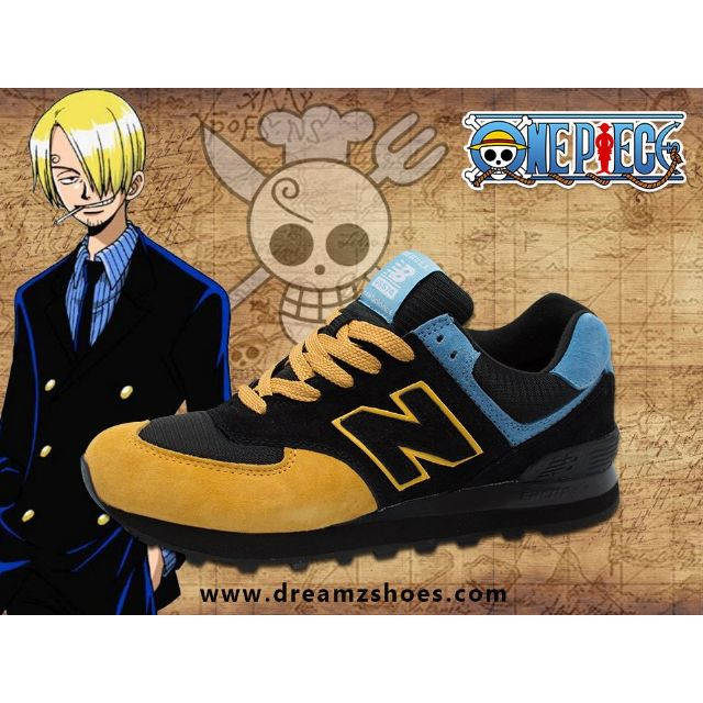 info for e9415 8bbe3 New Balance 574 One Piece Special Limited Edition Sanji ...