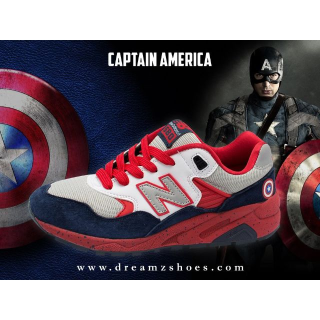 nouveau style e2f60 bfee5 New Balance 580 Special Limited Edition Captain America ...