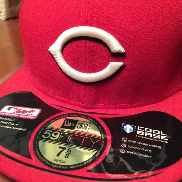 NEW ERA 紅色棒球帽