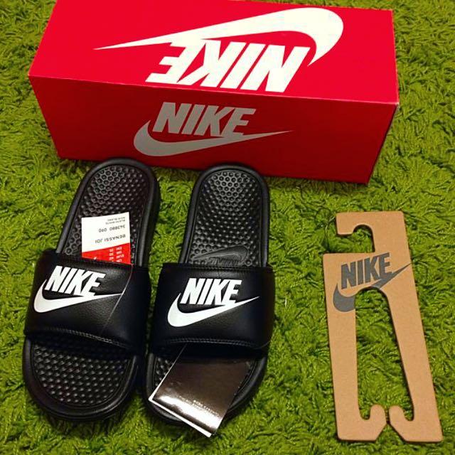 (全新)Nike拖鞋