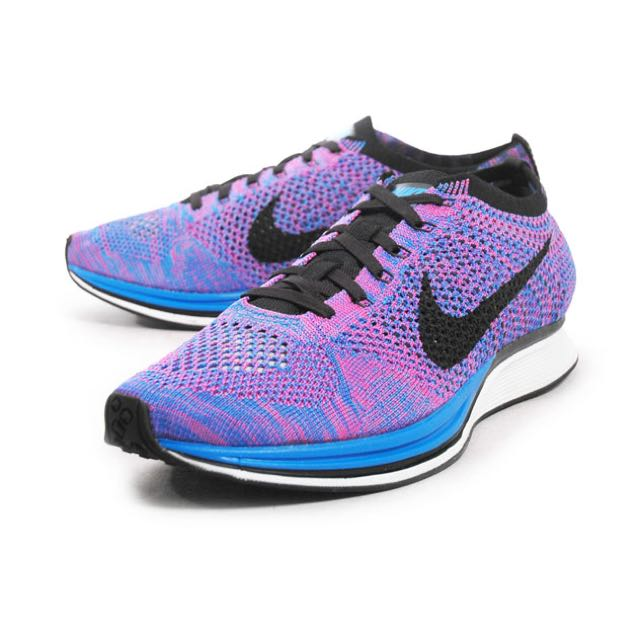 premium selection 1d150 f83c9 NIKE FLYKNIT RACER PURPLE, Sports on Carousell