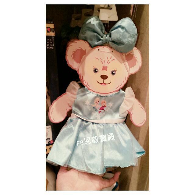 已售完 (SALE 8折品)現貨在台♡香港迪士尼- 冰雪奇緣艾沙造型 Shelliemay雪麗梅  S號 衣服 (拆板價)