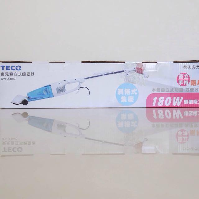 可議 Teco 直立式手持吸塵器 輕便 二手