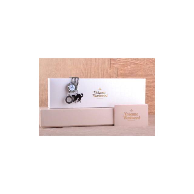 Vivienne Westwood 小貓手鍊手錶 VW7436-B08S