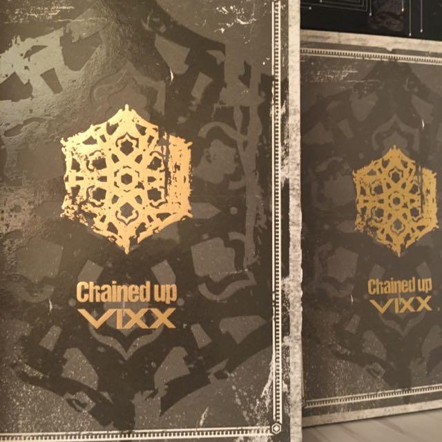 VIXX Chained Up 正規二輯 韓版 Freedom 版