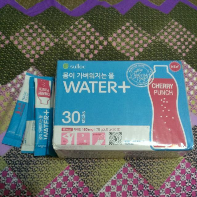 Water+ 櫻桃口味