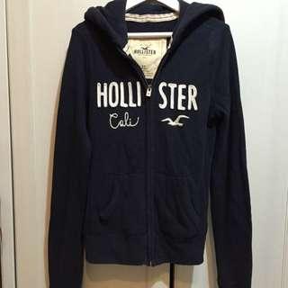 Hollister 深藍hoodie