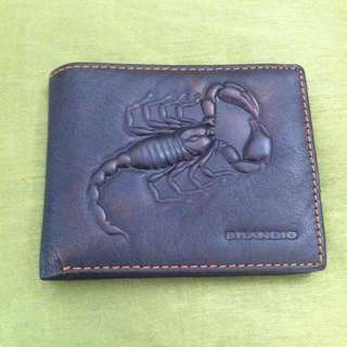 毒蠍子造型皮夾