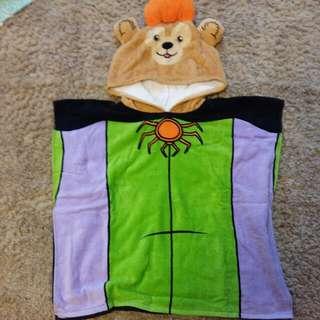 迪士尼達菲浴巾浴袍