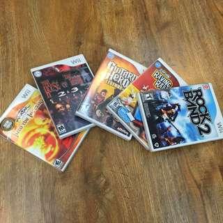 Nintendo Wii Game Bundle